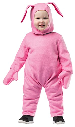 UHC Boy's Christmas Story Bunny Outfit Funny Theme Toddler Child Costume, 18-24M -