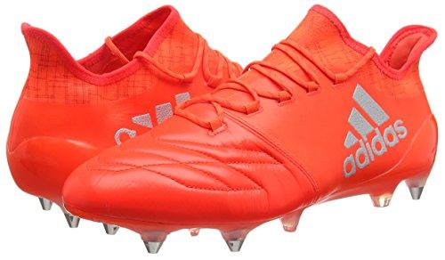 adidas X 16.1 SG Leather Botte di calcio da Uomo, taglia 46 2/3, colore Rosso