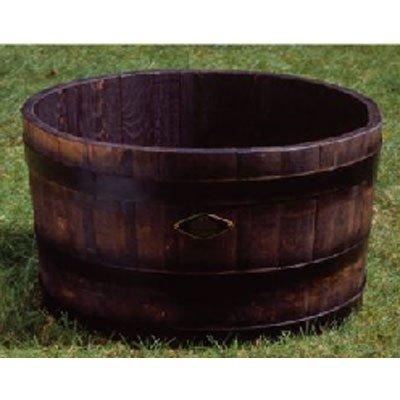 長谷川工業(ハセガワ) ウイスキー樽プランター 椀型70 GB-7240N(ナチュラル) B0030YGVK6 98L|ナチュラル ナチュラル 98L