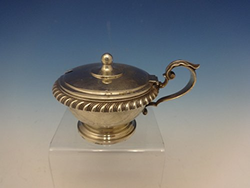 English Gadroon by Gorham Sterling Silver Mustard Pot (#0413)