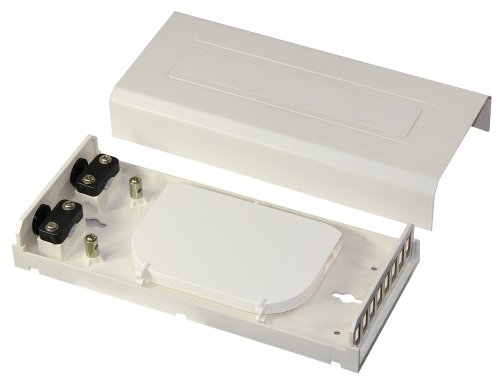 8 Ports Fiber Optic Termination Box (fits SC, LC(duplex), ST adapters)