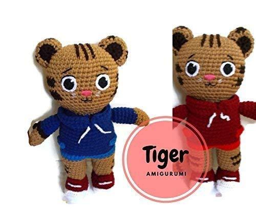 Crochet Toy Tiger Amigurumi Tiger Plush Tiger Crochet | Etsy | 419x500