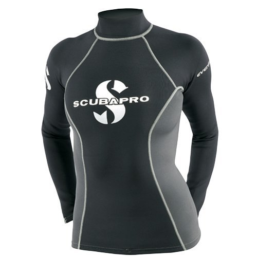 Womens Everflex Grey Shirt 1 Guard T mm ScubaPro Black Rush dq5f7d