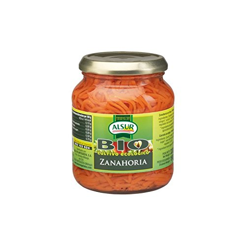 Zanahoria En Tiras Alsur Bio Cultivo Ecológico Frasco 330 G Primera: Amazon.es: Alimentación y bebidas