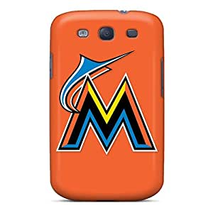 RdZ2209bFTP Wade-cases Baseball Miami Marlins Feeling Galaxy S3 On Your Style Birthday Gift Cover Case