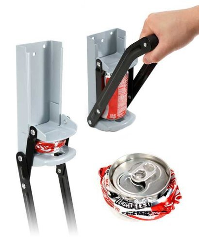 12oz. Can Crusher Compactor by Jed Mart
