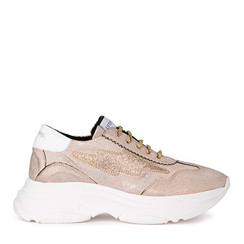 Rosa Bale Design Studio Vegan Sneaker Oro Glitter In Leo Pelle E 1w0Rx