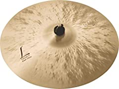 """With its dark tone, the highly-responsive SABIAN 17"""" HHX Legacy Crash can play loudly, but always remains musical. Until HHX, it was impossible to project darkness. But the dark, simmering sound, agitated bite and """"Tone Projection"""" design of ..."""