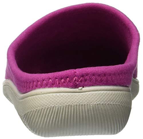 fuxia Pantofole Blupuff Aperte Donna Spugna Sulla Caviglia 005 Rosa Inblu 8Bqx67nB