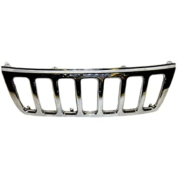 Partslink Number CH1200221 OE Replacement Jeep Cherokee//Wagoneer Grille Assembly