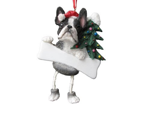 Terrier Ornament Boston Christmas - Boston Terrier Ornament with Unique