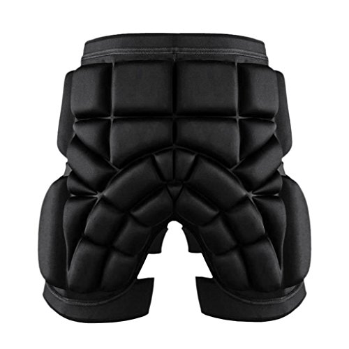 (MagiDeal Thickened 2.5cm Ski Hip Butt Pad Roller Skate Snowboard Padded Safe Shorts Protector Adjustable Wasit - M)