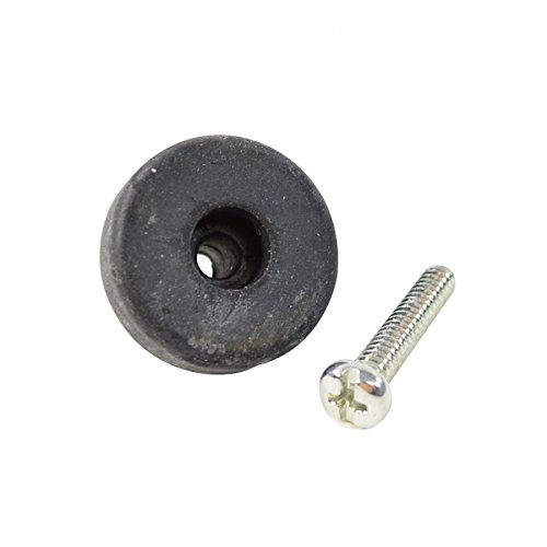 Cuetec Billiard/Pool Cue Accessory: Replacement Screw-in Flat Rubber Bumper, Fits 1-Piece Billiard Cue