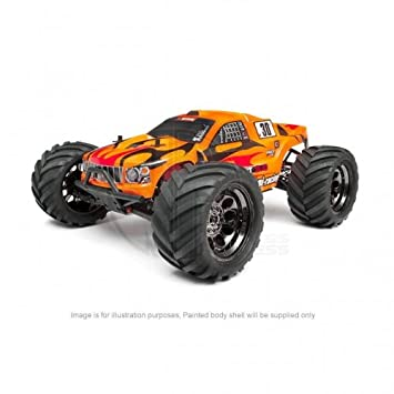 HPI Bullet ST 3 0 Trimmed and Painted Body Shell with Hex Decals