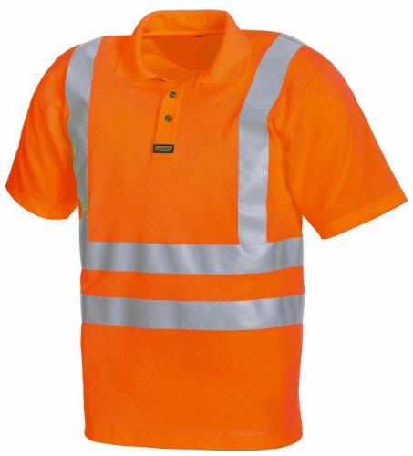 Blakläder Poloshirt Warnschutz Klasse 3 3310, Farbe:orange;Größe:XL
