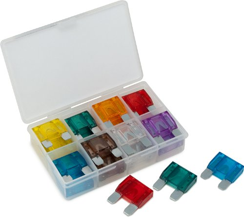 Titan -MAXI BLADE FUSE ASSORTMENT, Assorted Colors, 24PC ()