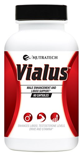 (Vialus -Male Testosterone and Performance Booster to Improve Size, Stamina, Energy. Fast Acting Enhancement Formula with Horny Goat Weed, Saw Palmetto, and More. Alternative to Prescription)
