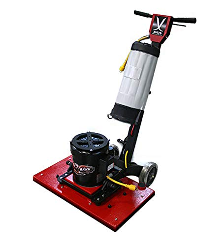 Tigerhawk Rectangular Pad Floor Machine w/Vacuum 14