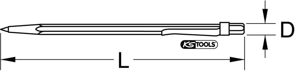KS TOOLS Hard Metal Scriber 145mm