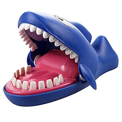 Vktech® Shark Funny Sound Snapping Family Challenge Game Kids Push Teeth Christmas Gift Toy