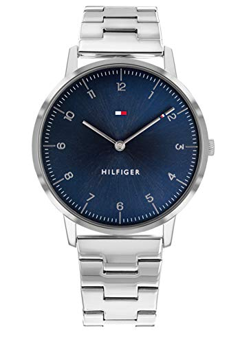 Tommy Hilfiger Silver Stainless Steel Watch-1791581 (Christmas Cooper Tommy)