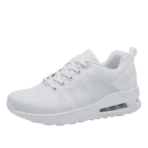 Shoes Jogging Absorbing Shock New Gym Sports Lightweight Trainer 8 Unisex Air Running Fitness White Running Women's kashiwu Shoes Trainers Trainers qpXv1w