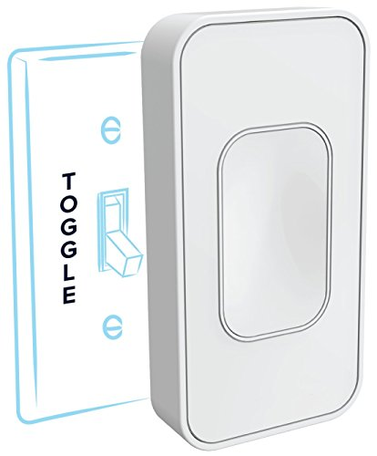 Switchmate: One-Second Installation Smart Lighting, Toggle, White