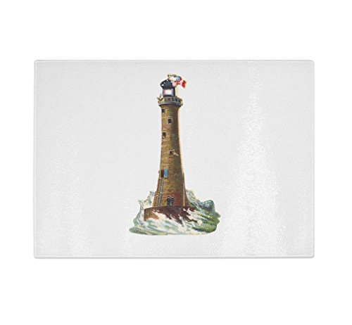Style in Print Lighthouse Vintage Look Kitchen Bar Glass ...
