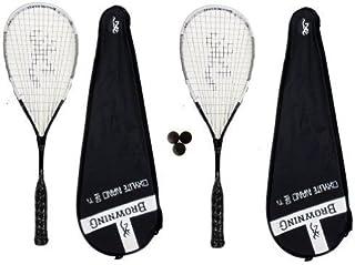 Browning Oxylite Nano 2 x 140 Squash raquettes de Squash 3 balles RRP £ 415 .
