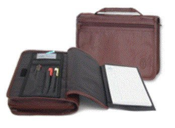 Wordkeeper Leather Organizer Bible Cover Burgundy, X-Large