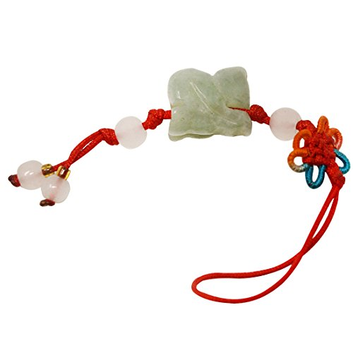 Fengshui 12 Animals Cell Phone Hanging Lucky Charm Hanging Handbag + One Free Red String Bracelet (Monkey)