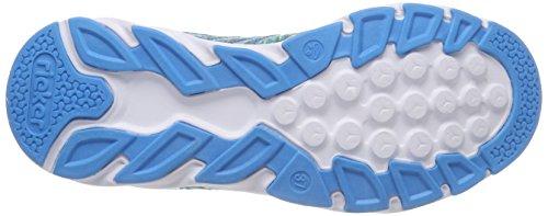 Navy pink 36 N9300 Femme Eu Rieker Basses Sneakers tuerkis Turquoise wIqBUA4