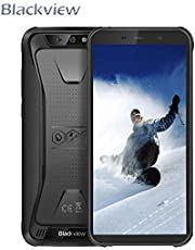"Blackview BV9600 Pro - Android 8.1 4G LTE Outdoor Smartphone,6.21"" 19:9 FHD AMOLED Display (Ultra-Narrow Bezels),Helio P60 6GB+128GB,5580mAh Battery,IP68/IP69K Waterproof/Dustproof,NFC"