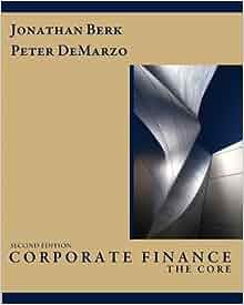 corporate finance berk demarzo 3rd edition solutions manual pdf