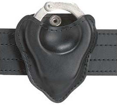 Safariland Duty Gear Open Top Handcuff Pouch (Plain Black) by Safariland Duty Gear