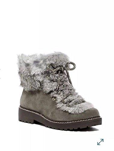 Arturo Chiang Women's Philippa Rabbit Fur Hiking Boot (6 B (M) US, ()