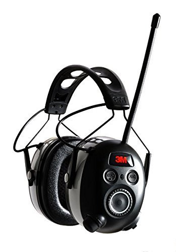 3M WorkTunes Wireless Hearing Protector with Bluetooth Technology and AM/FM Digital Radio (90542-3DC) - 3 Pack