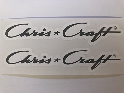2 Chris Craft Decals by SBDdecals.com