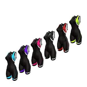 Sparx Women's Triathlon Suit Tri Race Suit Women Trisuit Compression Running Swimming Cycling Skinsuit