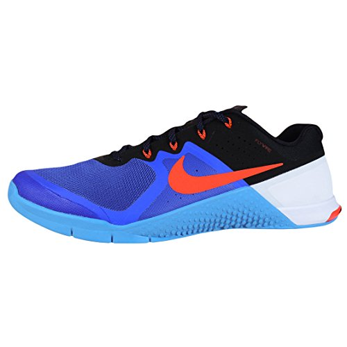 Black Synthetic Metcon Nike Glow 2 Bright Racer Mens Blue Blue Trainers Crimson C11wZPq