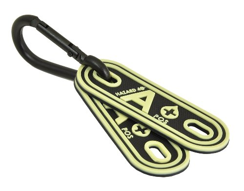 HAZARD 4 A Positive Blood-Type Lacer Tactical Multi-Position Marker (Pack of 2), Glow in The Dark