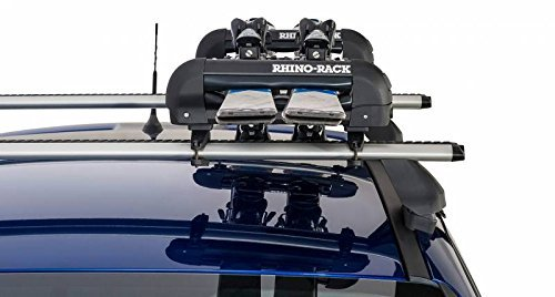 Rhino Rack Ski and Snowboard Carrier ( 2 Pairs of Skis)