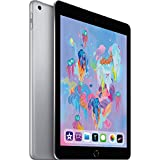 Apple iPad with WiFi, 128GB, Space Gray (2018 Model) (Refurbished)
