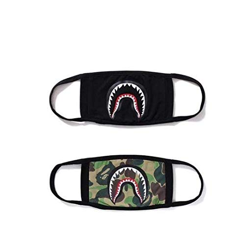 7a7741b05ae9 Xshelley 2-pack Shark Face Mask