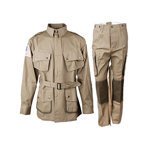Heerpoint Reproduction Ww2 Wwii Us M42 Airborne Jumpsuit, used for sale  Delivered anywhere in USA
