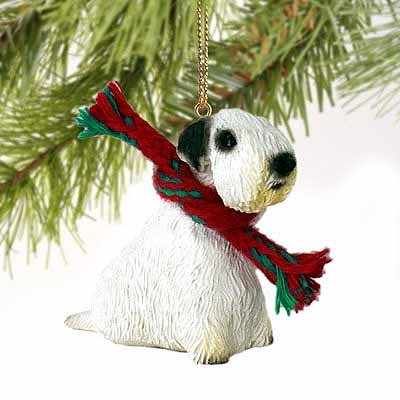 Sealyham Terrier Miniature Dog Ornament Sealyham Terrier Dog Figurine