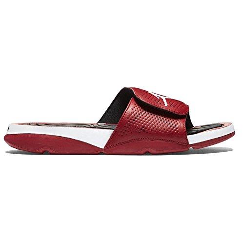 78da8580b57f Nike Jordan Mens Jordan Hydro 5 Gym Red White Black Sandal 8 - Import It All