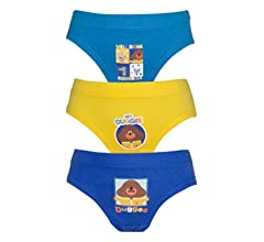 Cartoon Character Products Hey Duggee Boys 3 Pack Pants//Briefs