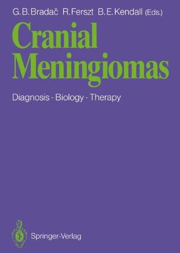 Cranial Meningiomas: Diagnosis  Biology  Therapy