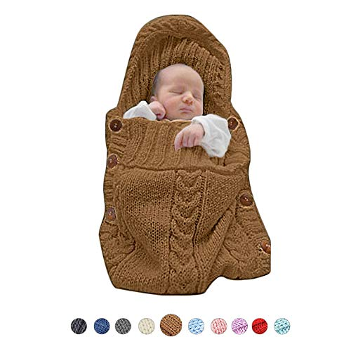 (XMWEALTHY Infants Baby Blankets Cute Newborn Baby Girls Swaddle Blankets Toddler Boys Blankets Newborn Gifts)